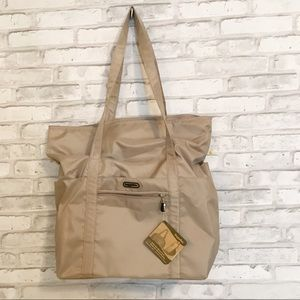 BAGGALLINI EXPANDABLE TOTE 100% RECYCLED MATERIAL